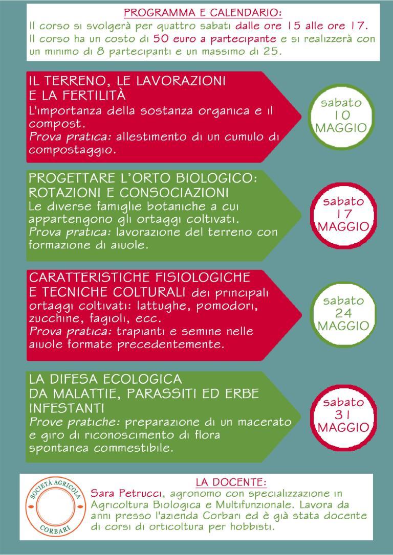 Corso Orticoltura Sandra Petrucci