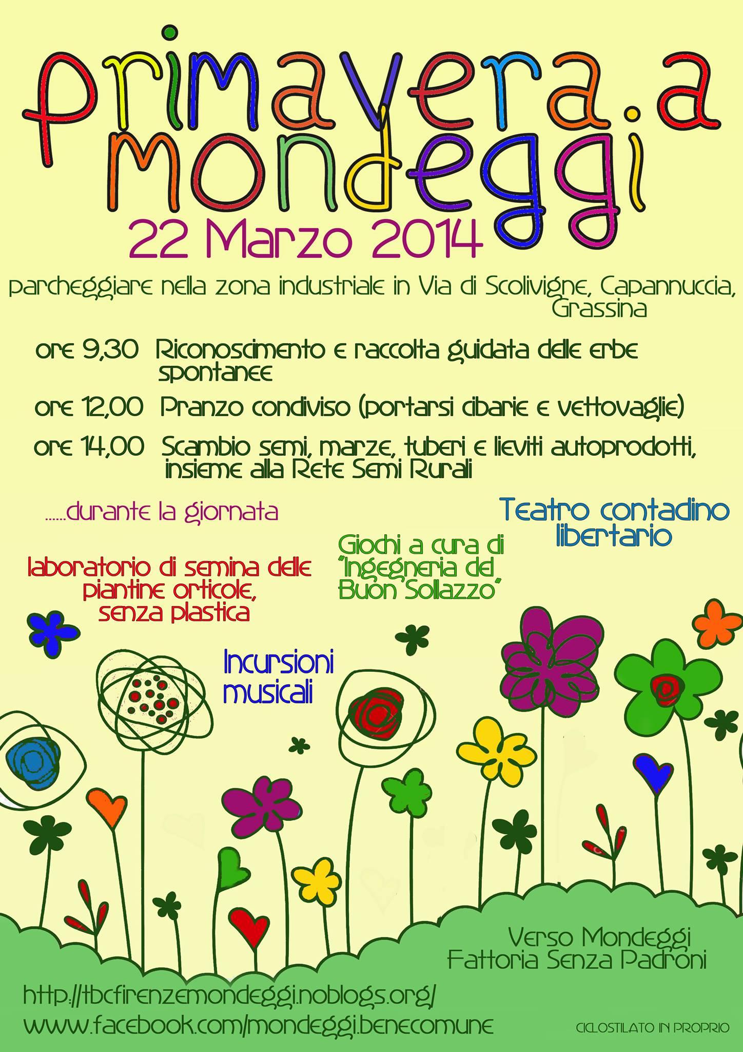 Primavera a Mondeggi 22/3/2014
