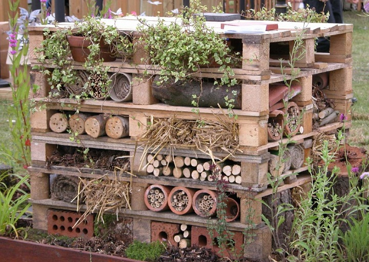 Wildlife trust insect hotel