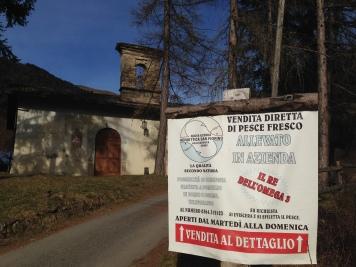 Agroittica San Fiorino - Borno Valcamonica Chiesa San Fiorino