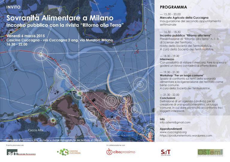 Sovranità Alimentare a Milano -locandina